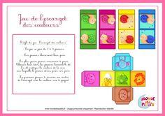 Règle du jeu pour enfant à imprimer