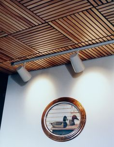 Woodgrille Grill Wood Ceiling and Wall System – Solid Wood and Real Wood Veneer Ceiling and Wall Systems – Architectural Surfaces, Inc