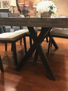 Yes Quincy Dining Table Saloom Furniture Company Breslow Greatroom Pinterest Companies Kitchen And