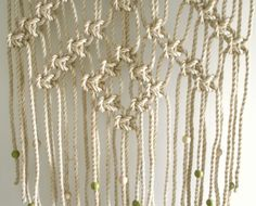 The knot studio macrame wall hanging @ Camberwell Pilates and Yoga.