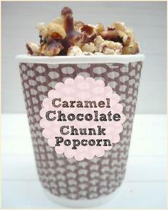 Caramel Chocolate Chunk Popcorn