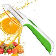 Acier inoxydable fruits légumes éplucheur céramique Cutter Gadget Cuisine cuisson UK
