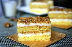 Prajitura Krantz cu lamaie | MiremircMiremirc Sweets Recipes, Cake Recipes, Desserts, Thing 1, Food Cakes, Cake Cookies, Vanilla Cake, Tiramisu, Goodies