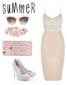 Summer by sabinastrmen on Polyvore featuring New Look, Oasis, Lipsy, Skinnydip, Gucci and Accessorize