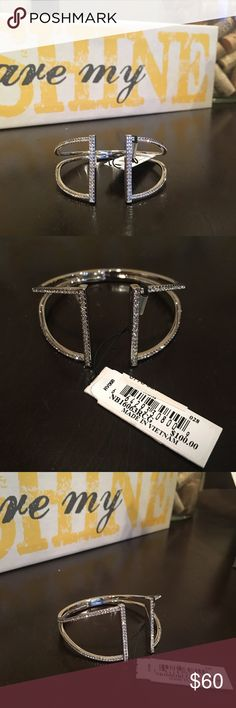 BRAND NEW Nordstrom Silver Bracelet✨ Brand new, never worn, tags on, in original box ✨ Beautiful & sparkles like crazy (pics do not do it justice) Nordstrom Jewelry Bracelets