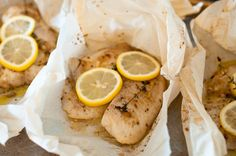 Fish {Tilapia} Baked en Papillote with a French Vinaigrette | Dear Cook Smarts, I need more easy weeknight recipes