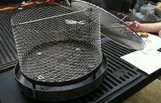 Ugly Drum Smoker UDS fire basket