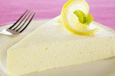 Four ingredients and only 15 minutes are all you need to get this super-creamy, extra-luscious lemon cheesecake into the refrigerator for its chill time.