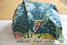 DIY beeswax, jojoba and rosin food wrap