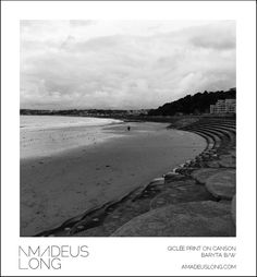 Jersey Photography, Jersey Art Print, British Isles Print, Wall Art, Black And White, Beach Print, Beach Photography, Travel Photography by AmadeusLong on Etsy