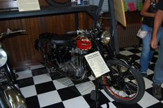 Photos of Rare Vintage Motorcycles at the Sturgis Motorcycle Museum (Part 2)   Motorcycle Blog of Leatherup.com