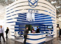 Stand EZTM on Tube 2014 Dusseldorf #gcgranat #thebestteam #workhard #exhibitionbooths #Tube2014 #Dusseldorf