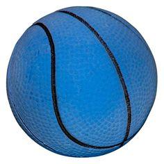 Bola Maciça Basquete Azul São Pet - MeuAmigoPet.com.br #petshop #cachorro #cão #meuamigopet