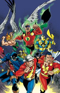 Flash and JSA by Carlos Pacheco
