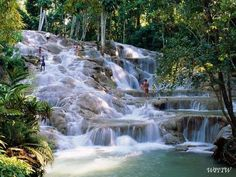 Dunn's River Falls, Jamaica BookMyTicket | India's No 1 Travel Site Book Flights, Hotels, Holiday Packages, Visa, Passport, Movie, Resorts, Bus Tickets www.bookmyticket.com
