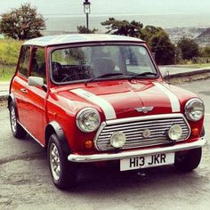 Classic Mini Cooper...... my first car!
