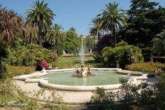 Fountain, gardens of Villa Ormond, Sanremo