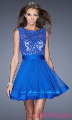 Short Prom Dress Style: LF-20429 Front Image