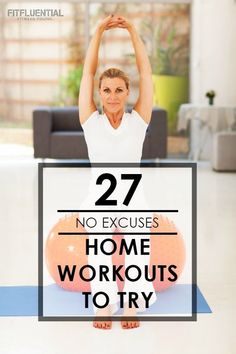 27 At Home Workouts to Try - FitFluential Workout Cardio, Gym Workouts, At Home Workouts, Training Workouts, Pilates Abs, Squat Challenge, Personal Fitness, Physical Fitness, Hotel Room Workout