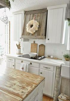 küche dekorieren rustikale küchen küchenideen