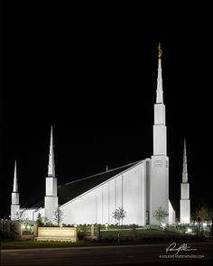 Boise Idaho Temple 2012 by Doug Petersen Photography - love the head on picture, but all are beautiful.  I want a large picture for our new home!