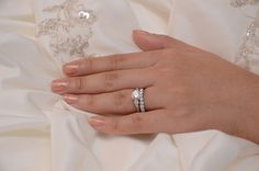 Brian Gavin's Summer 3 Stone Ring and the Dream Half Eternity Band