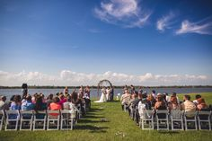 Get inspired by this Waterside Springtime Wedding at The Island House. Discover the vendors responsible for this stunning event, and book them for your big day. Only on Borrowed & Blue.