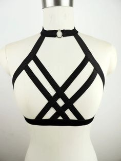 Elast IC HAR it SS cage bra 90 'liter cup of SS lingerie B Oh, that big brother Bo to harness belt