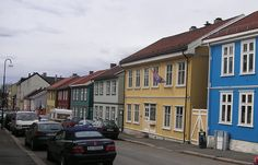 Street in Vålerenga, Oslo, Norway Norway Oslo, Beautiful Norway, Visit Norway, Close To Home, Scandinavian Home, Capital City, Sweden, Places Ive Been, Street View