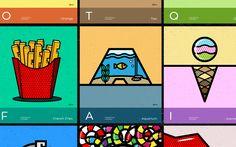 "Check out this @Behance project: ""Conceptual Alphabet"" https://www.behance.net/gallery/49548379/Conceptual-Alphabet"