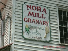 Nora Granary mill built in 1876- still a working mill