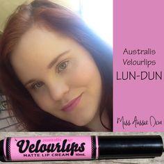Australis Velourlips in LUN-DUN from www.MissAussieDiva.com