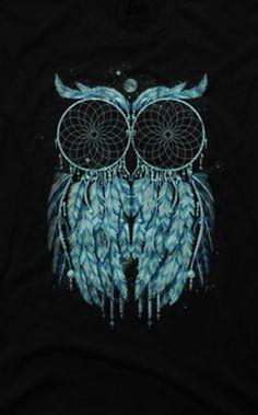 Owl Dream Men's Graphic T Shirt #owl #dreamcatcher #shirt