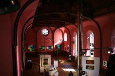 Looking down in Kilmorack Gallery. July 2012