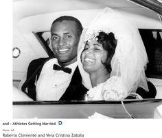 Roberto Clemente and Vera Zabala married in 1964
