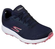 Check out what Loris Golf Shoppe has for your days on and off the golf course! Skechers Ladies GoGolf Max Golf Shoes - FAIRWAY (Navy/Pink)