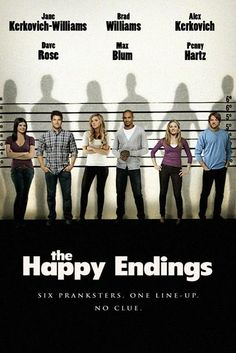 Don't know what this is from or what it's for, but it's cool. Happy Endings.