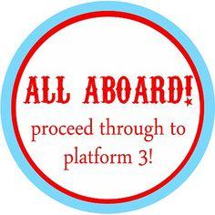 Train Theme: Choo Choo Train Party With Free Custom Designed Printables!