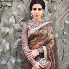Sabyasachi Saree Samantha Ruth Prabhu