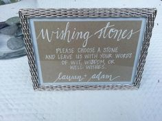 Hey, I found this really awesome Etsy listing at http://www.etsy.com/listing/162940100/custom-hand-lettered-wedding-sign