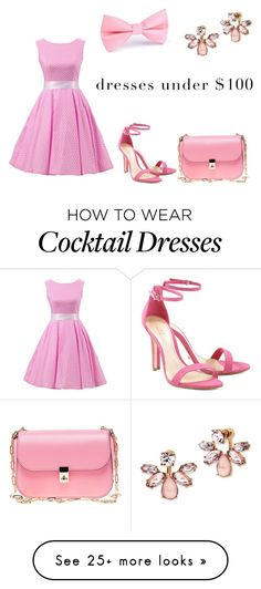 """pink"" by dryouknowho on Polyvore featuring Schutz, Valentino and Marchesa"