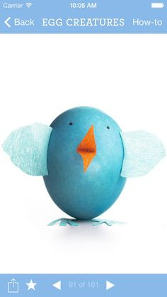 The Martha Stewart Easter eggs app: Download now at iTunes. It's actually pretty wonderful!
