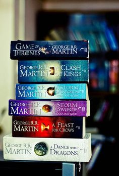 Song of Ice and Fire Series by George R.R. Martin - another fantasy series - you may know it from HBO but you don't *know* it (or think you know it) until you read the books ....