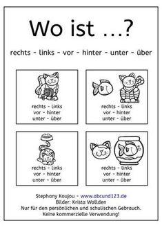 Wechselpräpositionen _ Lernposter mit Kindern | Deutsch | Pinterest ...