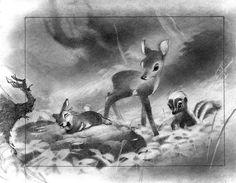 Bambi Vis Dev Art