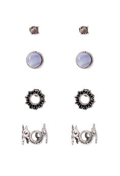 Ear Cuff and Stud Set | Forever 21 - 1002247249