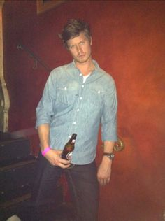 Spotted: Anders Holm in a Canadian Tuxedo #workaholics