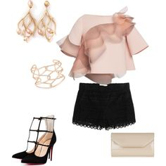 Saturday Night by eileen-salguera on Polyvore featuring polyvore fashion style Marc Jacobs MANGO Accessorize Shaun Leane Alexis Bittar