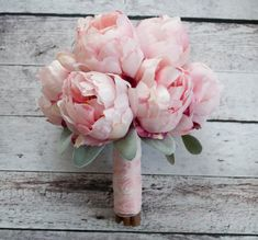 Fard à joues rose pivoine Bouquet avec oreille par KateSaidYes
