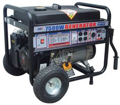 Emergency 7500 Watt Portable Power Outage Construction Building RV Gas Generator | eBay